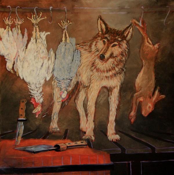 Wolf In Kitchen