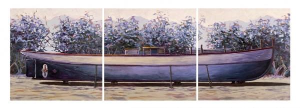 Barge at Dixon Inlet