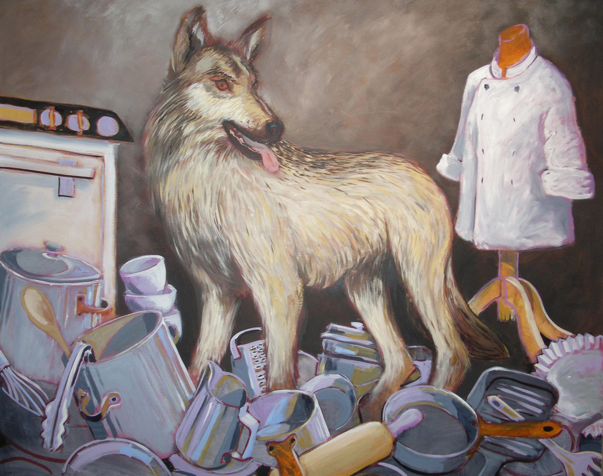 Wolf on the Pans
